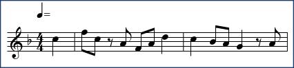 作曲の課題(第6回)