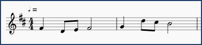 作曲の課題(第2回)
